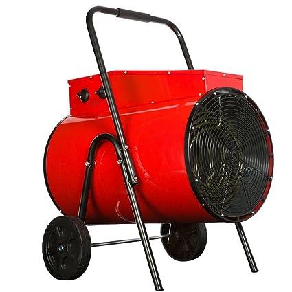 ZZHF Calentador Calentador Industrial de Alta Potencia 380V Calentador Calentador de Taller Industrial Rojo 645 *