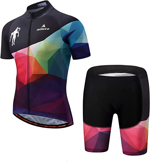 Hot Sale Cycling Jersey Sets 2019 Short Sleeve Men Bike Uniform Bicycle Clothing