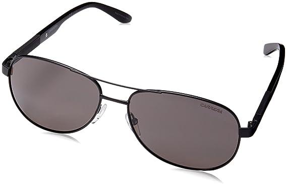 6e36c8b1df Amazon.com  Carrera 8019 S Sunglasses Matte Black   Gray Polarized ...