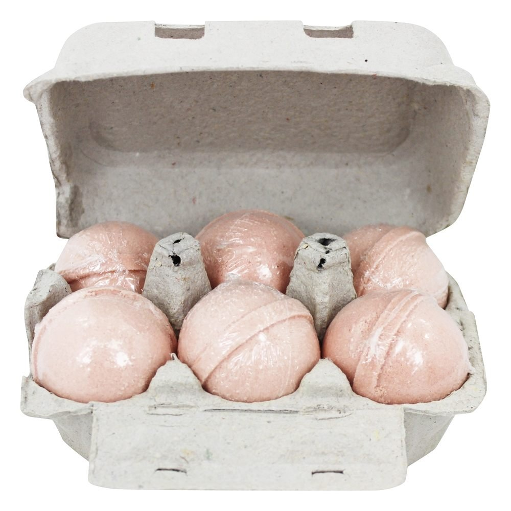 Level Naturals - Bath Bombs Grapefruit + Bergamot - 6 Pack