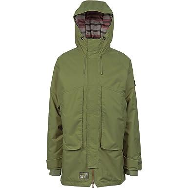 L1 Outerwear Grimey Chaqueta, Hombre, Military, L