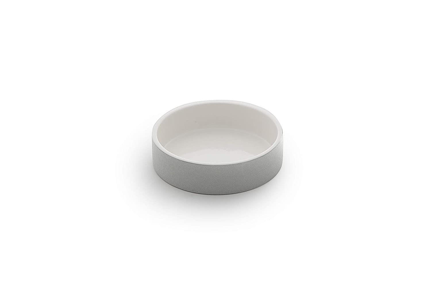 MAGISSO Dog cat Bowl Cooling Ceramic Technology | Naturally Cooling Design | Keeps Water Chilled and hygienic for Hours (Small, Grey)