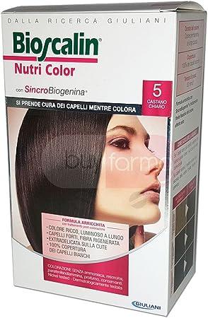 Bioscalin Nutri Color Colorazione Permanente Colore 5 Castano Chiaro