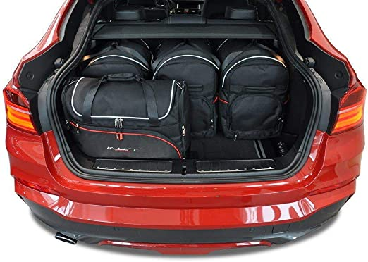 Kjust Dedizierte Kofferraumtaschen 5 Stk Kompatibel Mit Bmw X4 F26 2014 2017 Auto