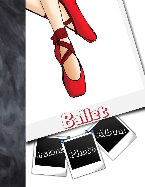 Dancing ballerina theme baby shower gift Ballet dancer birthday party photobook Ballerina baby 5x5 photo album Instax square polaroid