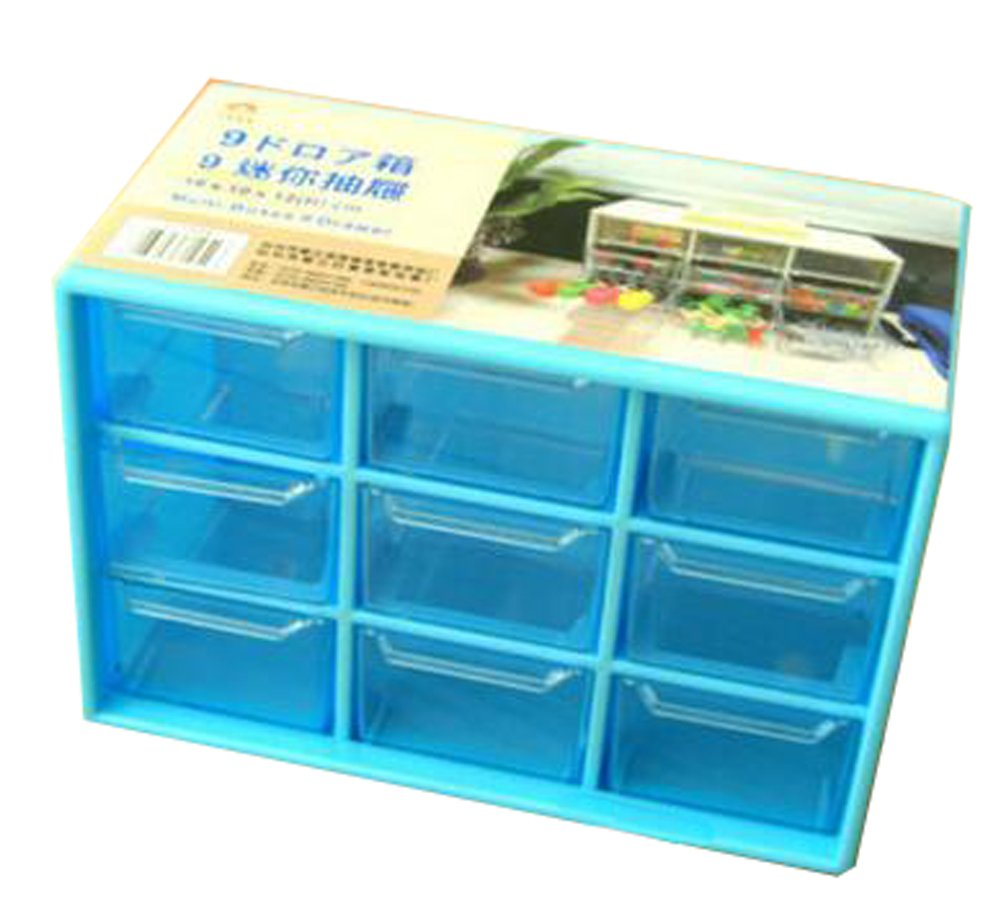 Amazon.com : Office Plastic Desktop Storage Cabinets - 9 Office ...