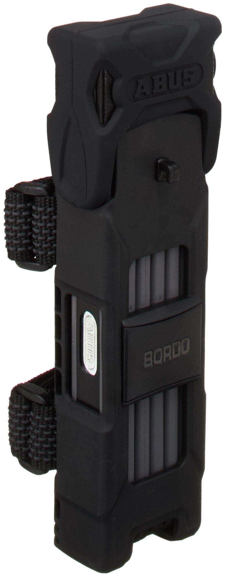 Abus Bordo 6000 Folding Lock (Long) Black 90cm