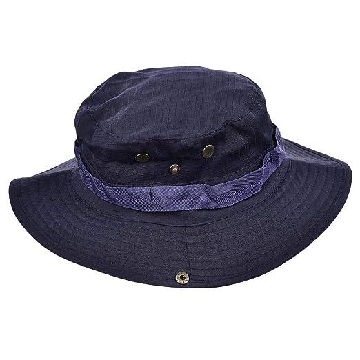 Motto.H Sombrero para el Sol Gorra de Pescador Camuflaje ...