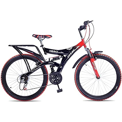 NEYSA Hero Ranger DTB 26T 18 Speed Cycle (Red, 13 Years and Above)