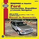 camionetas ford - Ford Camionetas, Expedition y Lincoln Navigator Manual de Reparacion (Haynes Manuals) (Spanish Edition) by Jay Storer (2011-05-11)