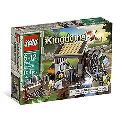 LEGO Kingdoms Blacksmith Attack 6918: Toys & Games
