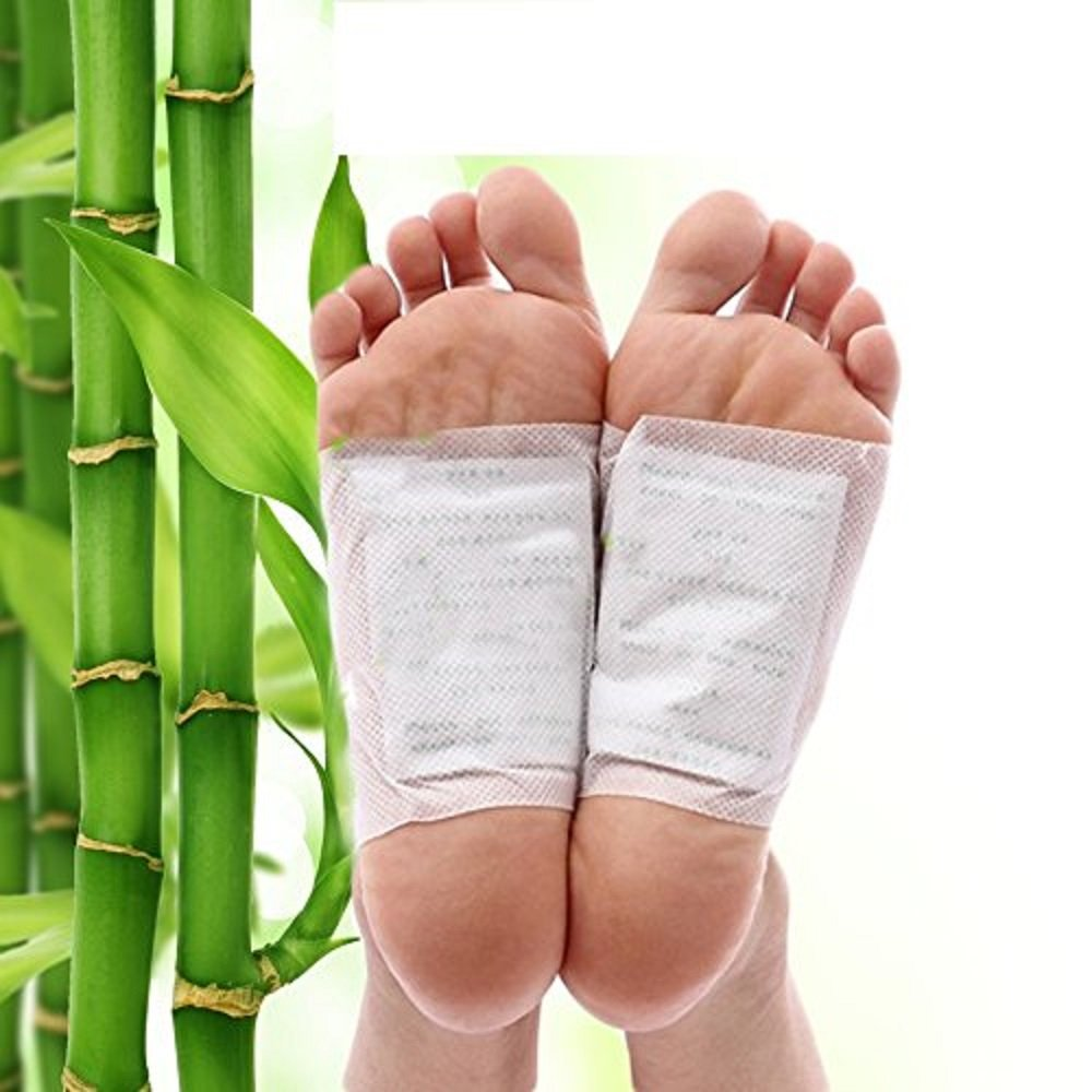 Foot Pads Patches - Adhesive Foot Care Patch Helps Remove Impurities, Relieve Stress & Improve Sleep 20 Pack