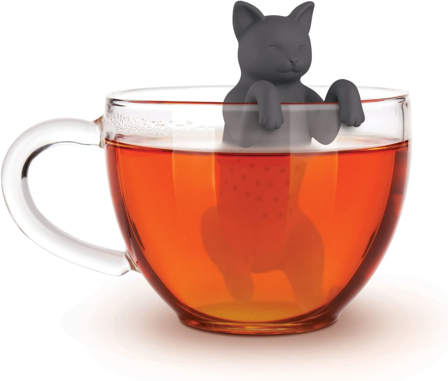 One Size Fred 5228955 Cat Silicone Tea Infuser PURRTEA
