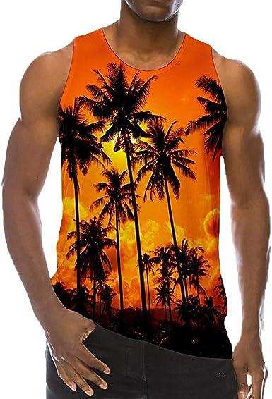 beetleNew Hombre Ropa Chaleco de los Hombres Estilo Hawaiano de la Playa Nube de Fuego Chaleco de Camisa de los Hombres y Mujeres Pareja Isla Camisa de Viaje Camisa de Fondo: Amazon.es: