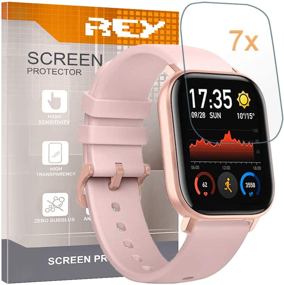 7X Protector de Pantalla para XIAOMI AMAZFIT GTS, Reloj SmartWatch