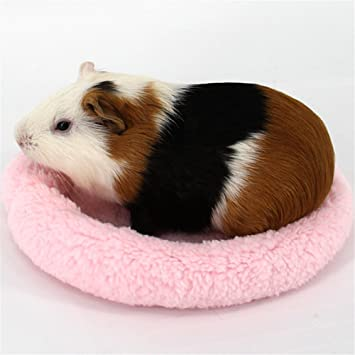 Small Animals Nest House Ultra Soft Warm Plush Bed Mat For Hamster Guinea Pigs Hedgehog