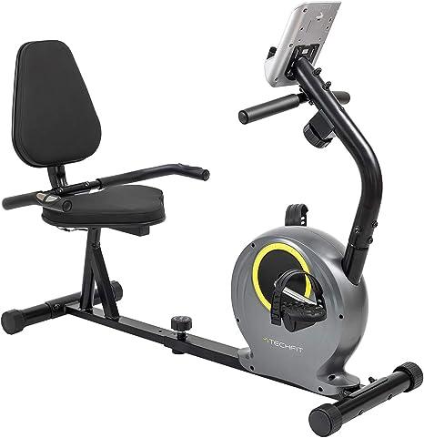 TechFit R300 Bicicleta Estática Reclinada, Ideal para Ejercicios ...