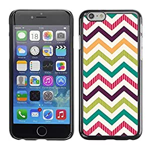 Graphic4You PAINT PALETTE CHEVRON PATTERN HARD CASE COVER FOR APPLE iPhone 6