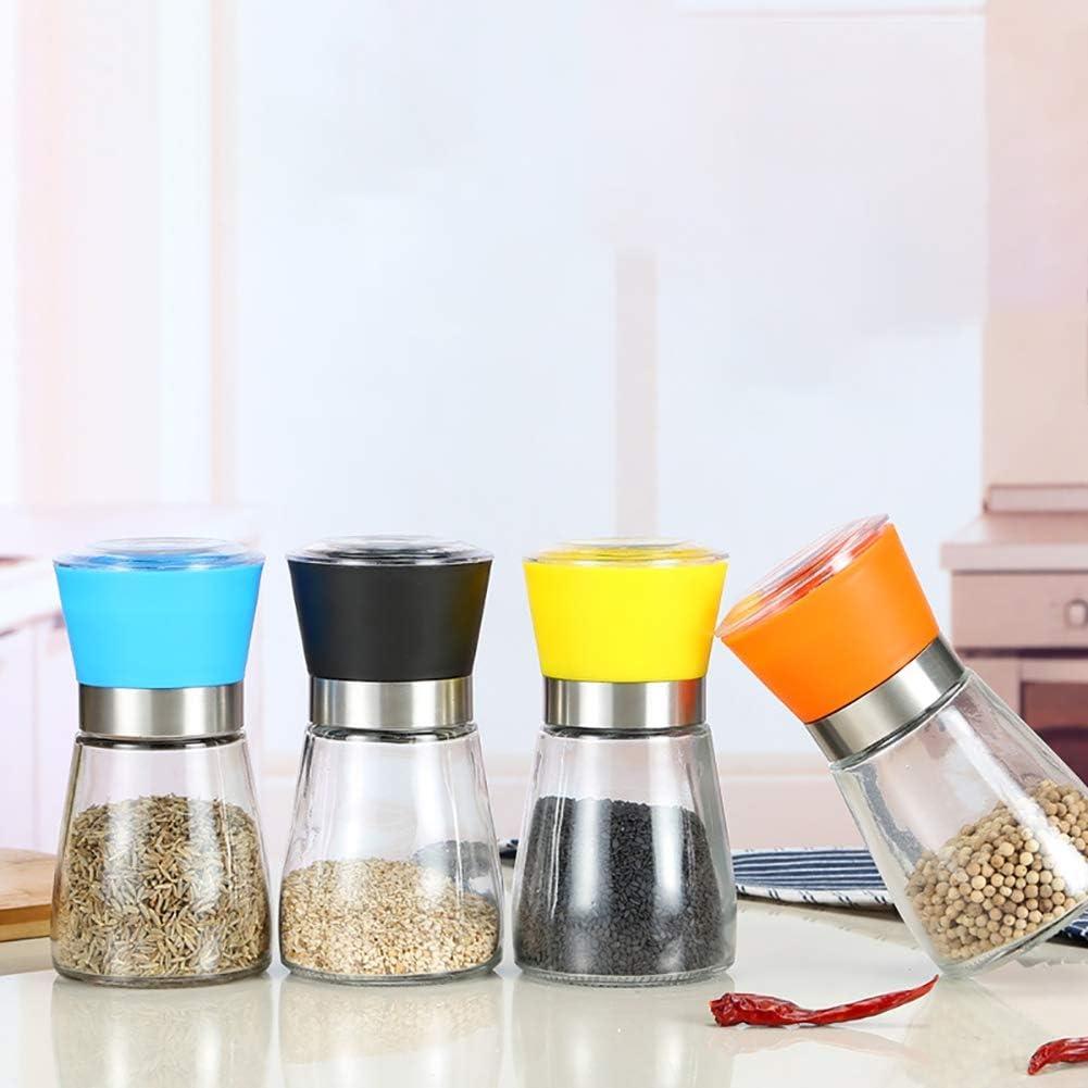 Moulin /à poivre//caf/é manuel en verre