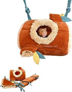 MYIDEA Hamster Jungle Suit Branch Tunnel//Branch Pile Nest//Hammock