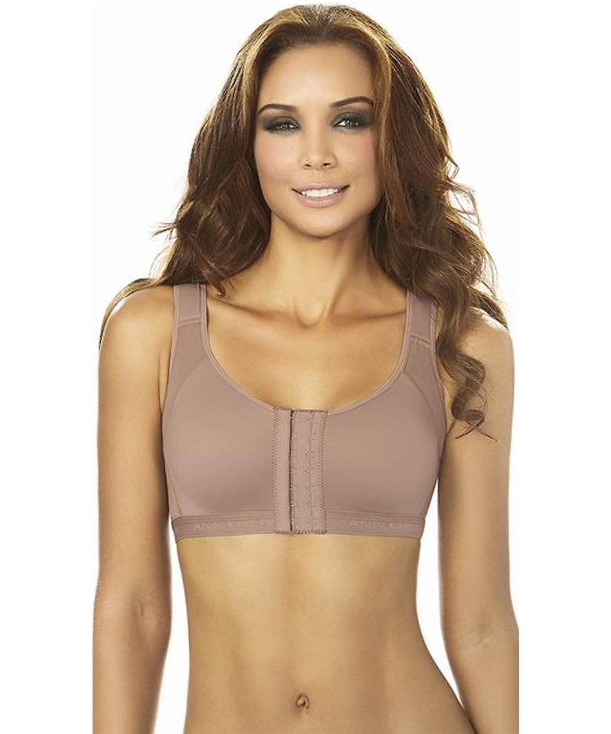 Ann Chery 5130 Post Surgery Bra Surgical Operatory Brassier Brown (Large) by Ann Chery