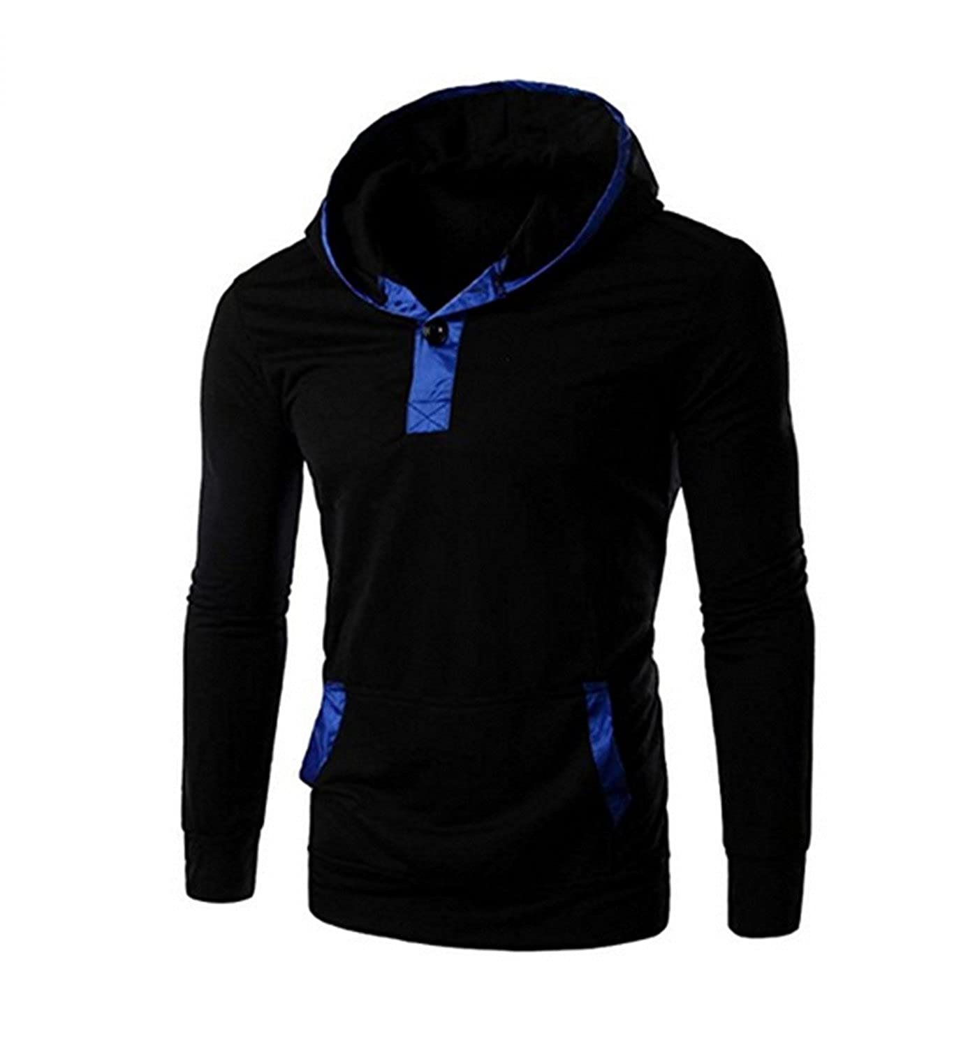 Toping Fine Mens Fashion Relaxed Long Sleeve Sweatshirts