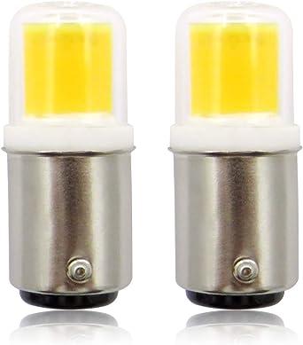Ba15d Bombillas LED, 220V 4W COB Pygmy Bombilla, Casquillo de ...