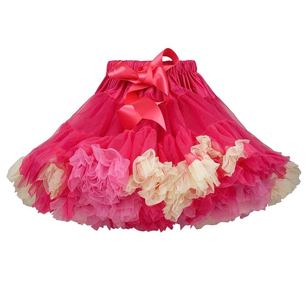 Minions Boutique Baby Girls Tutu Skirt Fluffy Ballet Pettiskirt Baby Girl Skirts Princess Tulle Party Dance Skirts Ball Gown