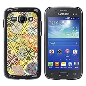 Be Good Phone Accessory // Dura Cáscara cubierta Protectora Caso Carcasa Funda de Protección para Samsung Galaxy Ace 3 GT-S7270 GT-S7275 GT-S7272 // Abstract Crocheted Pattern Hypnot