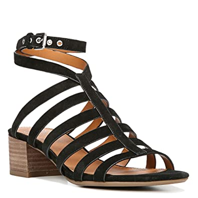 eab39e6b7b5 Franco Sarto Womens Finesse Open Toe Casual Ankle Strap Sandals