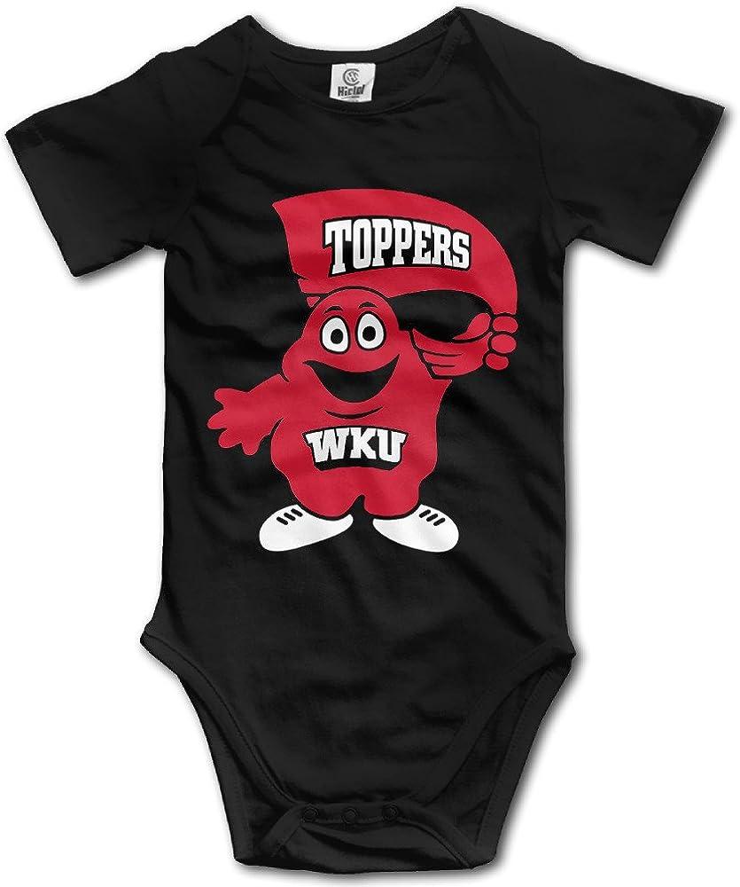 ElishaJ Western Kentucky University Babys Boy's/Girl's Infant Snapsuit Black