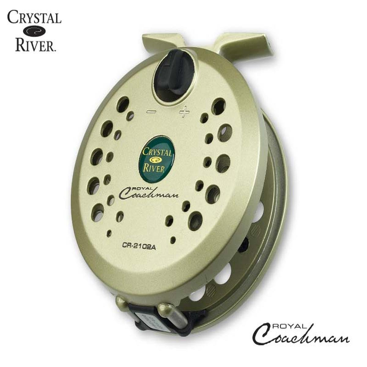 Crystal River CR-2102A Royal Coachman Fly Reel 5 6 7