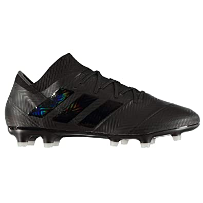 Adidas Nemeziz 18.2 FG Firm Ground Football Boots Mens Black Soccer Shoes  Cleats  Amazon.co.uk  Shoes   Bags 06be90f7201