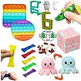 Dan&Dre Conjunto de brinquedos sensoriais, brinquedos anti-estresse, brinquedos especiais sortidos para crianças e adultos le