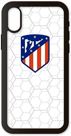 Funda móvil de alta protección Escudo Atletico de Madrid compatible con compatible con iphone X y XS. Carcasa de TPU de alta protección. Funda antideslizante, anti choques y caídas.: Amazon.es: Electrónica