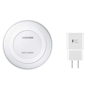 Samsung Qi Certified Fast Charge Wireless Charger Pad - US Version - White