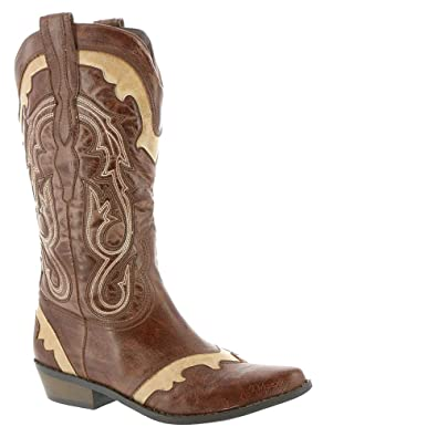Amazon.com | Coconuts by Matisse Women's Bonanza Western Cowboy Boot |  Knee-High