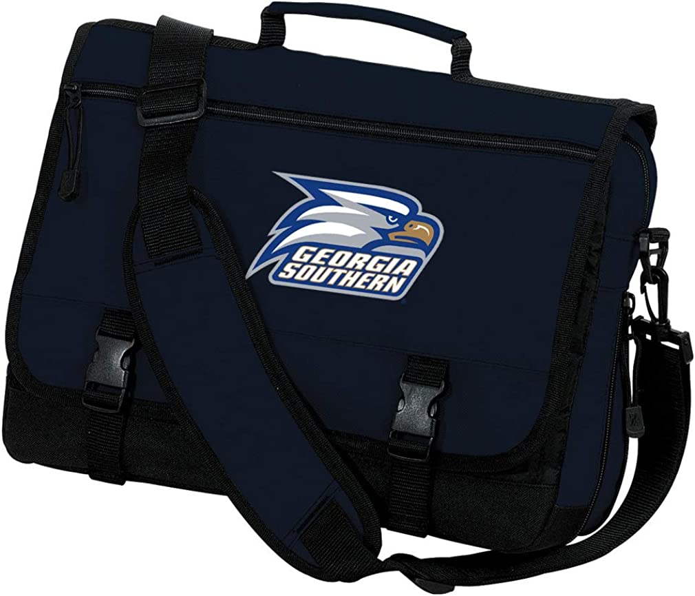 Broad Bay Georgia Southern Eagles Laptop Bag Georgia Southern Computer Bag Messenger Bag
