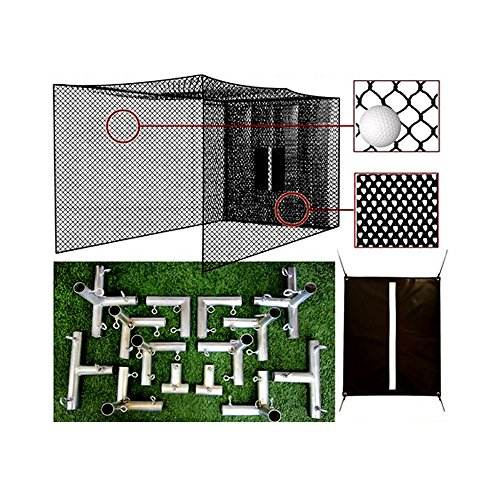 Cimarron Sports Training Aids 20x10x10 Masters Golf Net with Frame Kit
