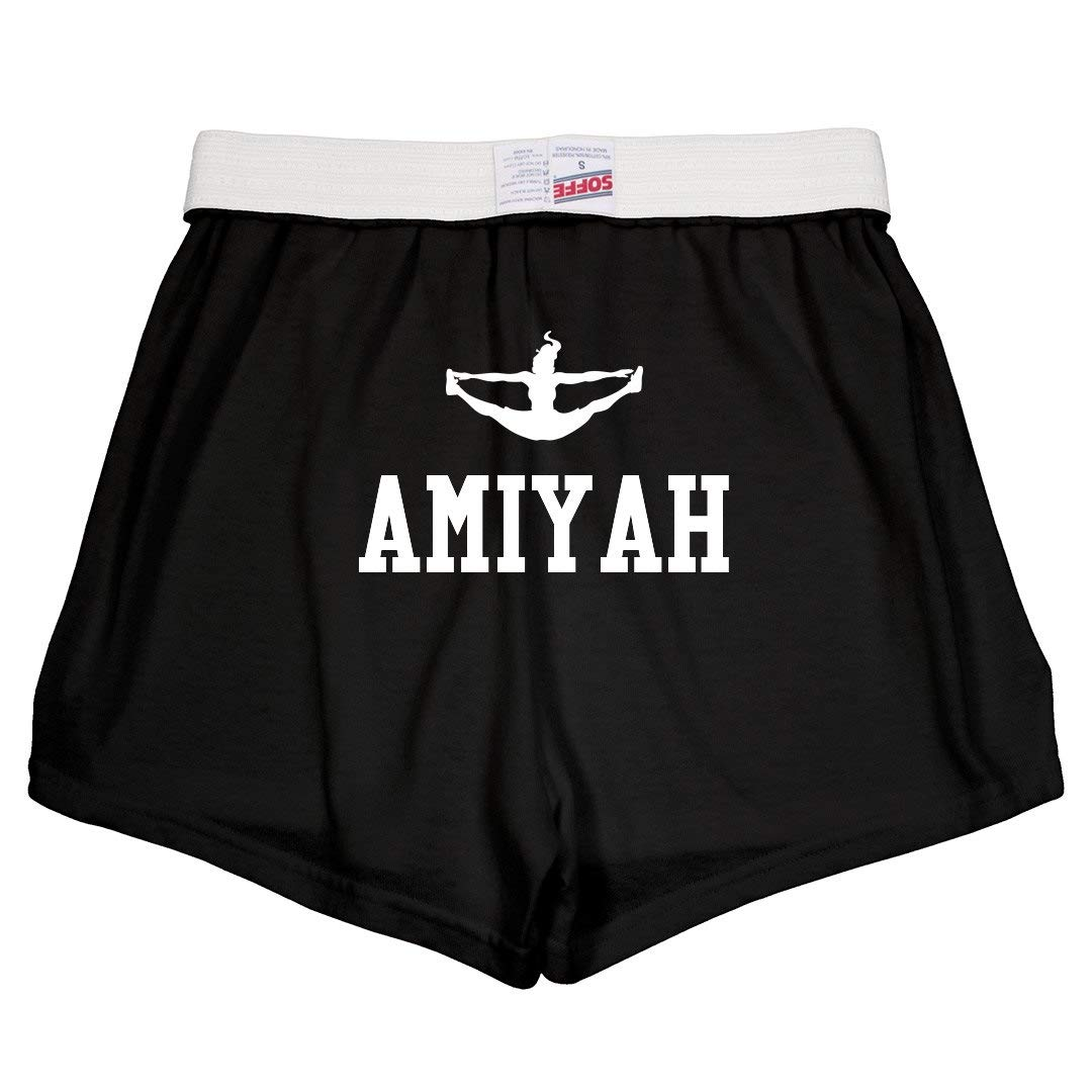 Youth Soffe Shorts Amiyah Cute Cheer Practice