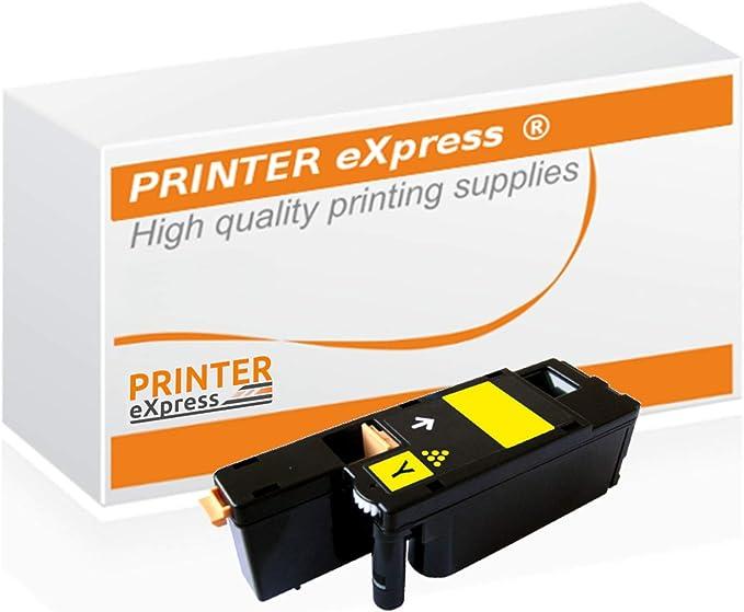 Printer Express Xl Toner Ersetzt Dell Xy7n4 593 11131 Toner Für Dell C1660 C1660w Dell C 1660 1660w Drucker Gelb Bürobedarf Schreibwaren
