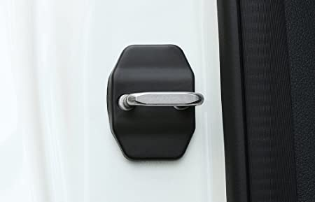 per BMW Mini JCW Countryman Clubman Cooper F54 F55 F56 F60 WASHZD Accessori per Auto Protezione della Copertura della Fibbia della Serratura della portiera dellauto