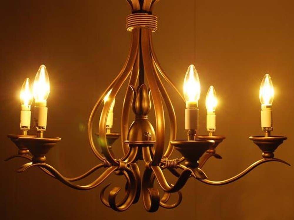 Leadleds 4w Chandelier Led Bulb 40 Watt Equivalent B11 Candelabra E12 Mini Base 2700k Warm White For Hotel Ceiling Light Wall Lamp Ul Listed 3 Pack