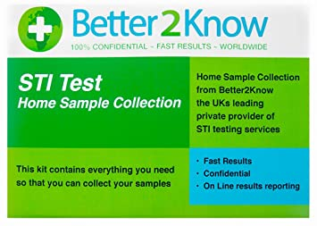 Home Herpes Blood Test Kit - STI / STD Test for Herpes