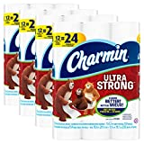 Charmin Ultra Strong Toilet Paper, Bath Tissue, Double Roll, 48...