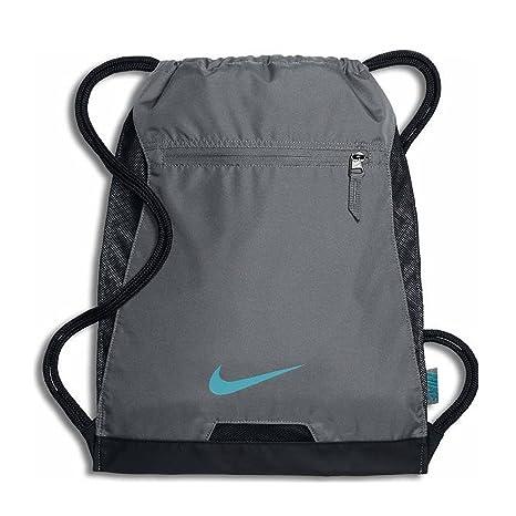 4f12e806de Amazon.com   Nike Alpha Adapt Gym Sack Cool gray black   Sports   Outdoors