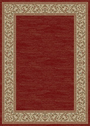 Rug Empire Bella Claret Area Rug, Red 66 - Claret Traditional Rug Shopping Results