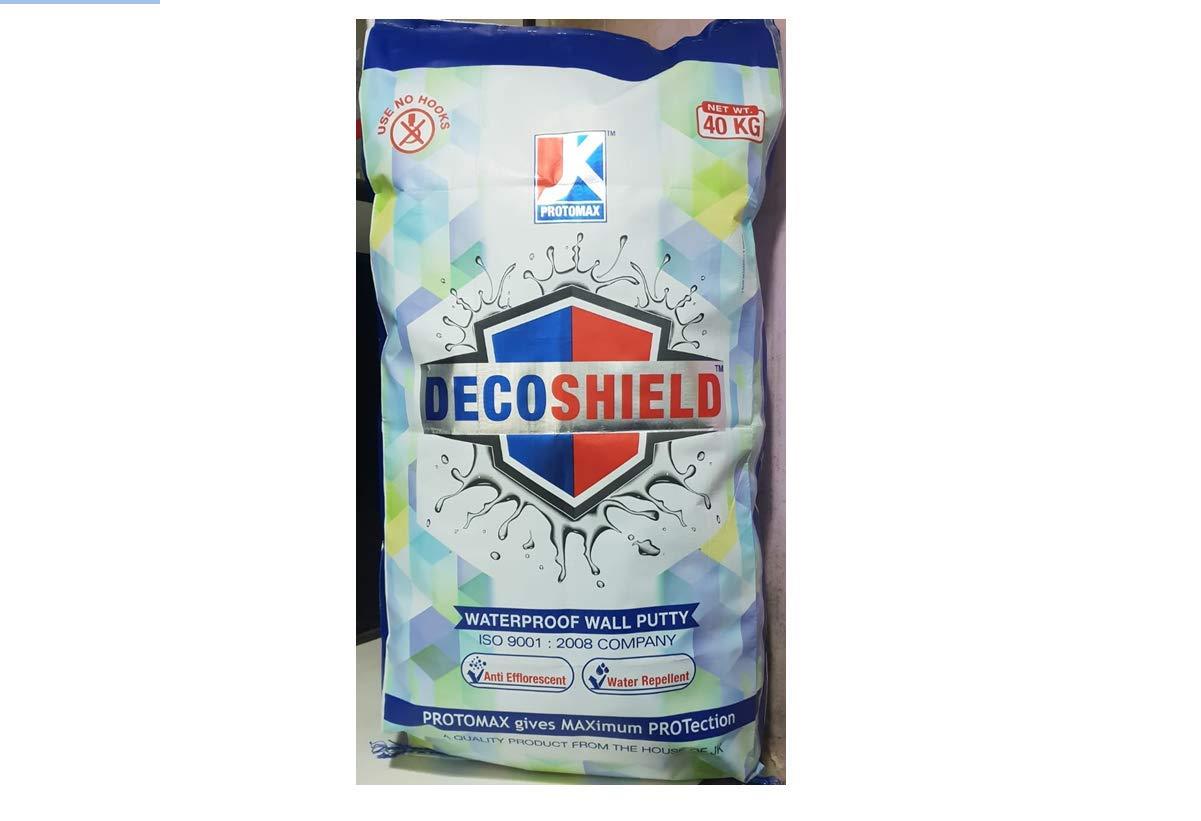 J K Protomax Decoshield Waterproof Wall Putty 40 K G Amazon In Home Improvement