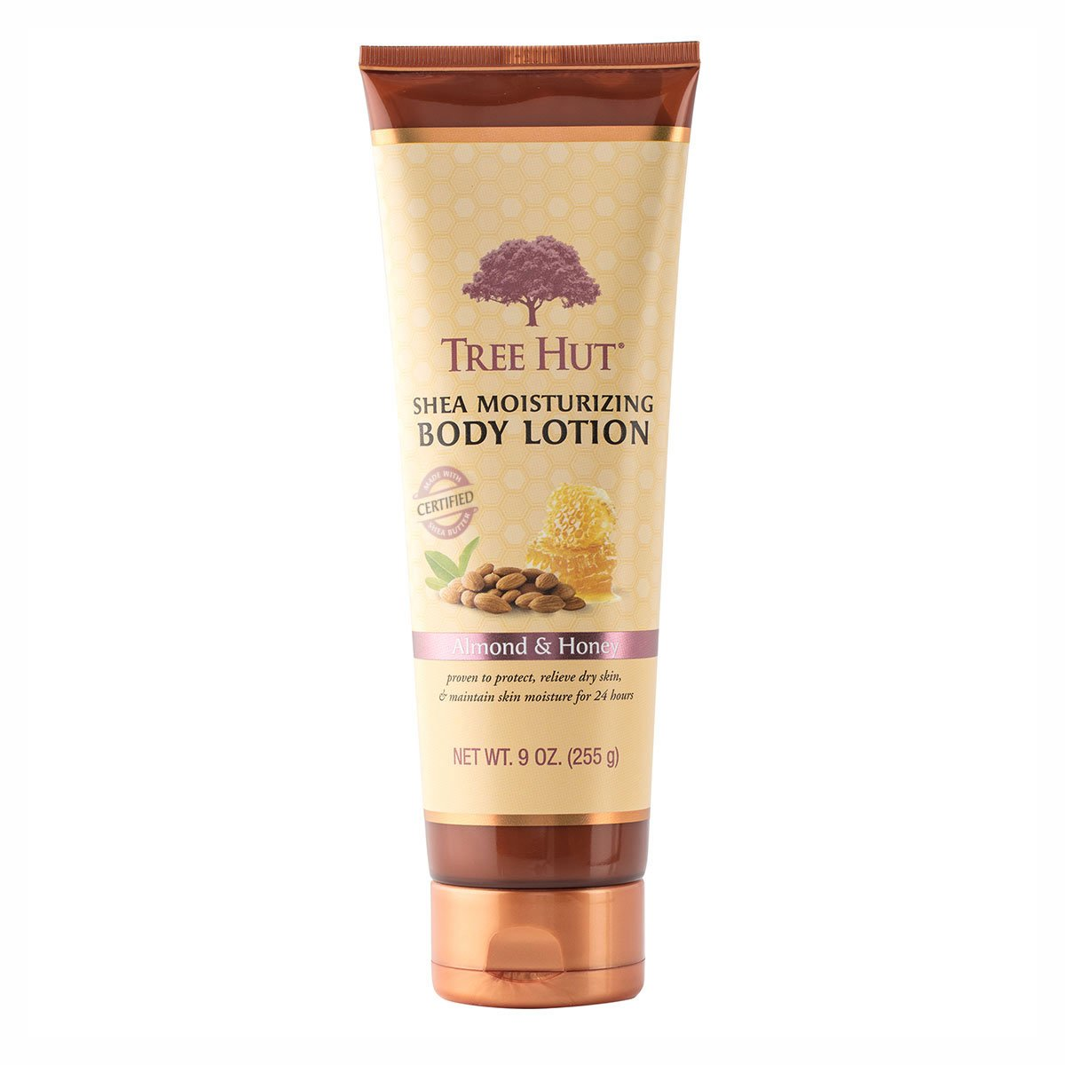 Tree Hut Shea Moisturizing Body Lotion, Almond and Honey, 9 Ounce (Pack of 2)