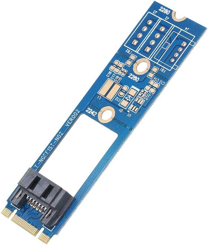 M.2 NGFF SATA 3.0 to 7Pin NGFF SATAIII Connector HDD SDD Converter Card Adapter SATA3.0 HDD SDD Converter Adapter